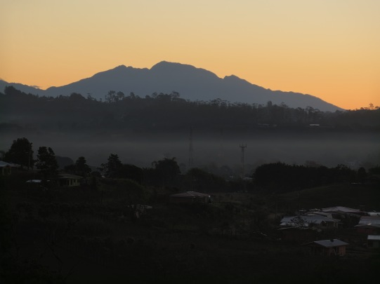 Morning View of Coopa Buena & Baru Volcano from RCL